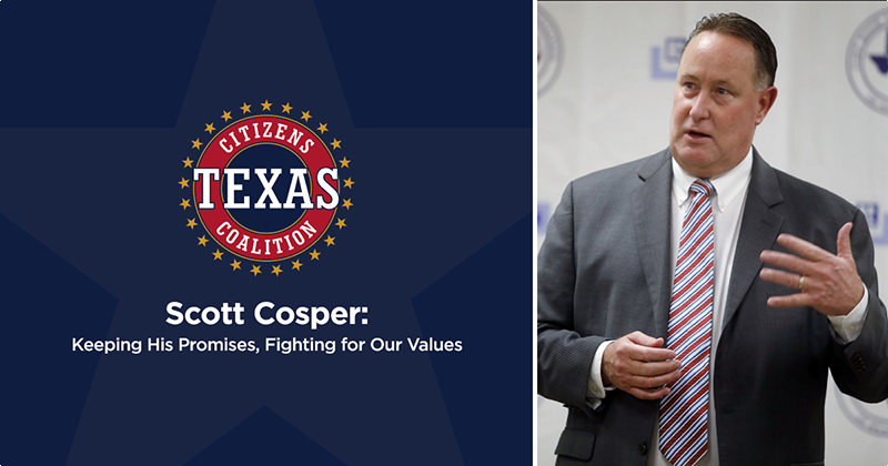 Scott Cosper: Keeping His Promises, Fighting for Our Values