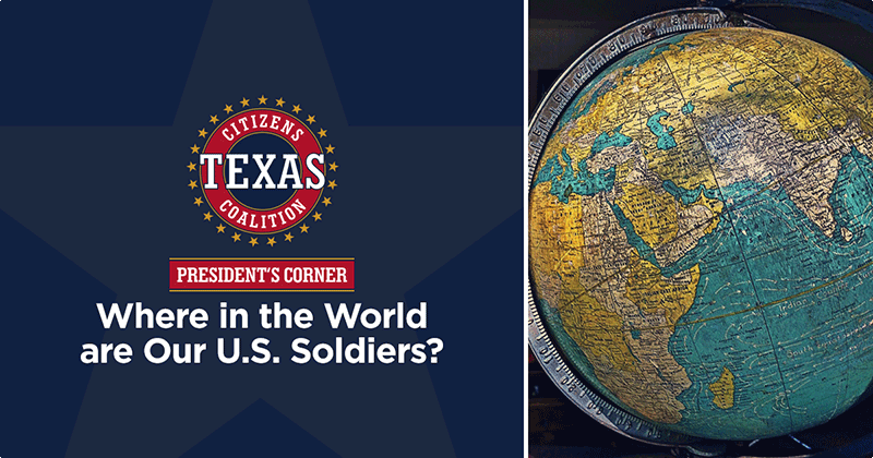 Where in the World are Our U.S. Soldiers?