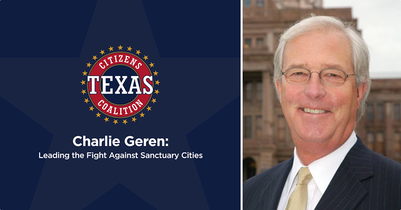 Charlie Geren: Leading the Fight Against Sanctuary Cities
