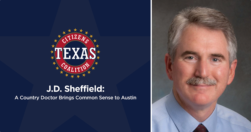 J.D. Sheffield: A Country Doctor Brings Common Sense to Austin