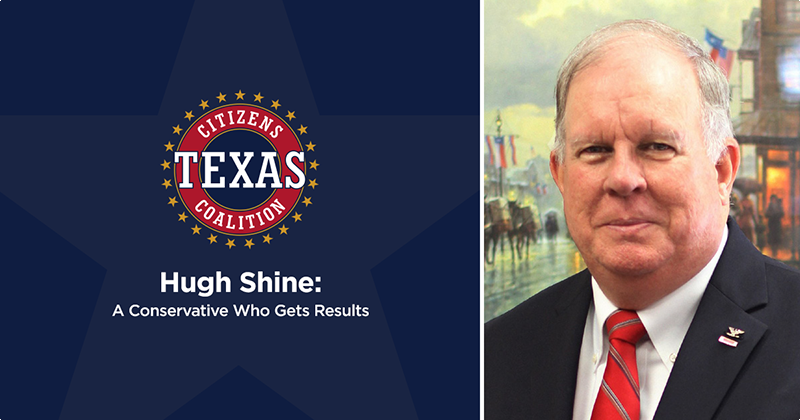 Hugh Shine: A Conservative Who Gets Results